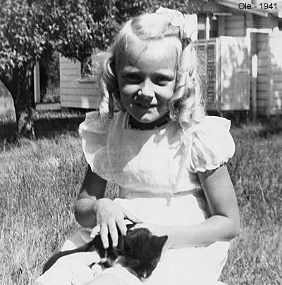 Ole in Sea Girt in 1941, age 7