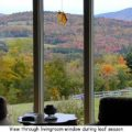Fall view from the livingroom
